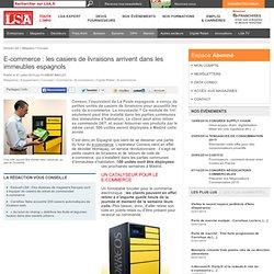 E-commerce : les casiers de livraisons...
