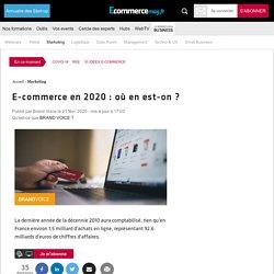 E-commerce en 2020 : où en est-on ?