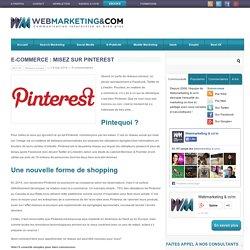 E-commerce : misez sur Pinterest