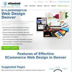 E-Commerce Web Design Denver