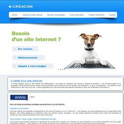 E-Creacom » L'utilité d'un site web