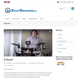 E-Drums - StartDrumming
