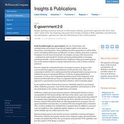 E-government 2.0