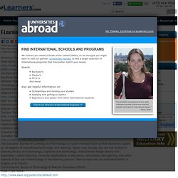 E-Learning Academic Journals