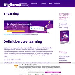 E-learning (définition)