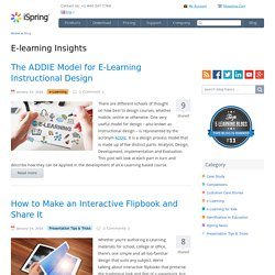 E-Learning Development Tools