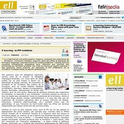 E-learning : la FFP mobilisée