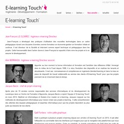E-learning Touch'