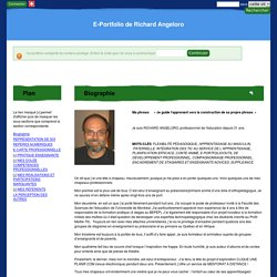 E-Portfolio de Richard Angeloro