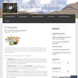 E-Portfolio « e-portfolio Valérie Bardot