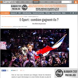 E-Sport : combien gagnent-ils ? - page 4