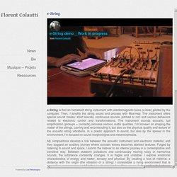 e-String-Florent Colautti