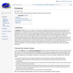 Définition sur EduTech Wiki