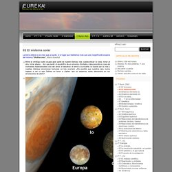 ¡E U R E K A! » 02 El sistema solar