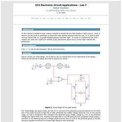 e72 . lab 7 : Solar Seeker