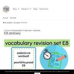E8 zestawy – TIE – Teaching is easy