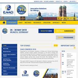 EAACI Congress 2018