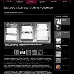 Eadweard Muybridge Collections - Muybridge : Image & Context