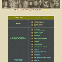 EAF - Le bac de français 2014 sur Magister