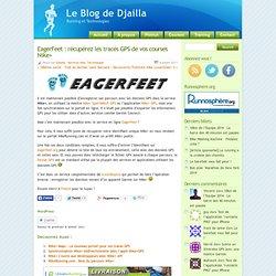 EagerFeet : récupérez les tracés GPS de vos courses Nike+