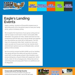Eagle's Landing - Picnics and Events