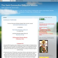 The Saint Eanswythe Orthodox Mission