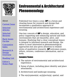 EAP Home Page