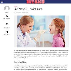 Ear, Nose & Throat Care - WebKu