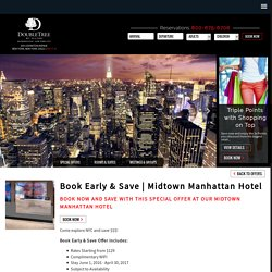 Midtown Manhattan Hotel Offer