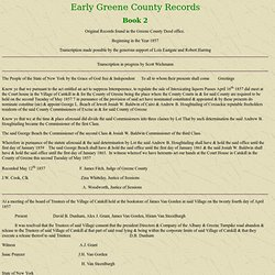 PETER: Early Records of Greene County Book 2