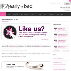 early to bed: sex toys, sex advice, vibes, and dildos