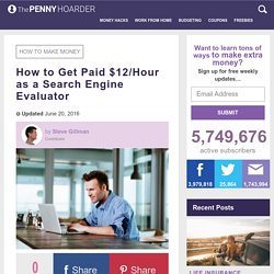 How to Earn $12/Hour as a Search Engine Evaluator