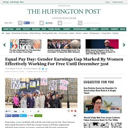 Equal Pay Day: Gender Earnings Gap Marked By Women Effectively Working For Free Until December 31st