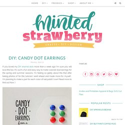 Candy Dot Earrings
