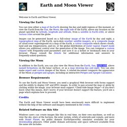 Earth and Moon Viewer