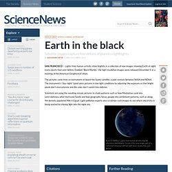 News in Brief: Earth in the Black