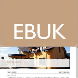 Earth Building UK
