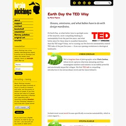 Earth Day the TED Way