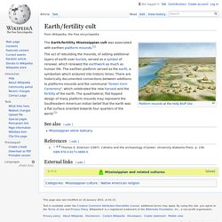 Earth/fertility cult
