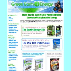 Earth For Energy - Green Earth For Energy