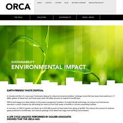 Orca - Earth-friendly Waste Disposal