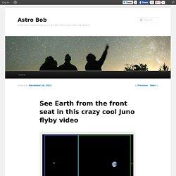 La Terre et la lune depuis Juno