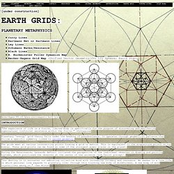 Earth Grid