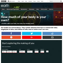 Earth - How much of your body is your own?