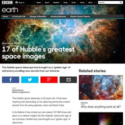 Earth - 17 of Hubble's greatest space images