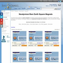 Square Permanent Neo Magnets for Sale, Buy Wholesale Now