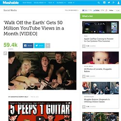 'Walk Off the Earth' Gets 50 Million YouTube Views in a Month [VIDEO] - StumbleUpon