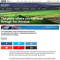 Earth - The place where you can walk through the Universe