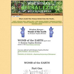 Womb of the Earth (part one) by Roslyne Sophia Breillat