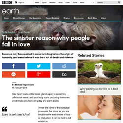 Earth - The sinister reason why people fall in love